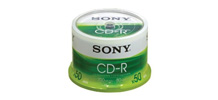 Sony CD-Q 80 700 MB / 50-Pack Printable